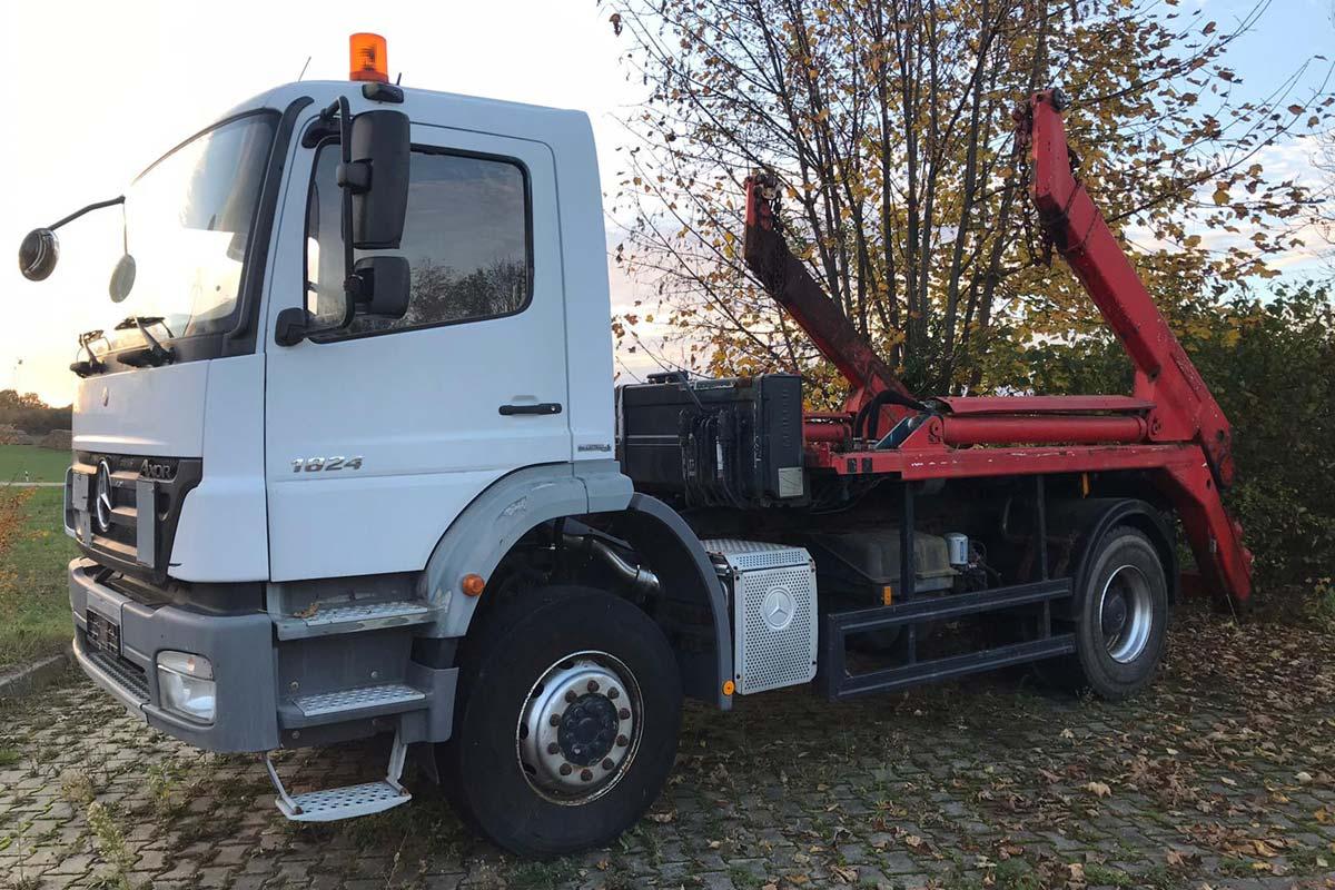 Mercedes LKW fertig für den Verkauf
